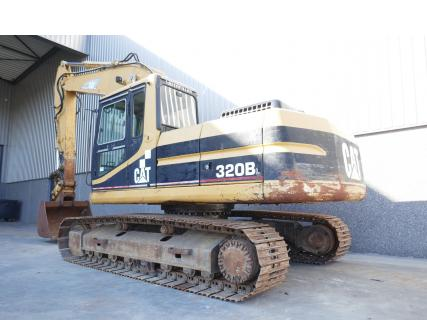 Caterpillar 320BL 1997 Excavator tracksVan Dijk Heavy Equipment