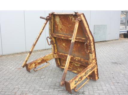 Caterpillar O-rops cab D4H 0 CabineVan Dijk Heavy Equipment