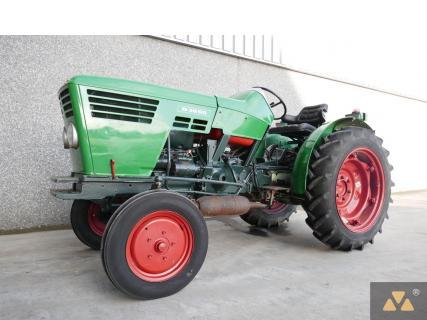 Deutz D3006P 1972 Vineyard tractor 1 Van Dijk Heavy Equipment