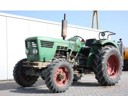 DEUTZ D4006A 1971 Agricultural tractor 1 Van Dijk Heavy Equipment