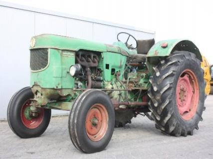Deutz D6005 1967 Agricultural tractor 1 Van Dijk Heavy Equipment