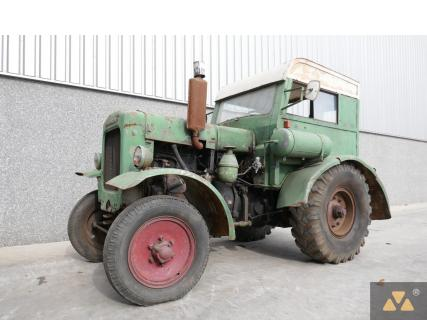 Deutz F3M317 1938 Agricultural tractor 1 Van Dijk Heavy Equipment