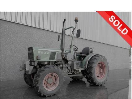 FENDT 260VA 1988 Vineyard tractor 1 Van Dijk Heavy Equipment