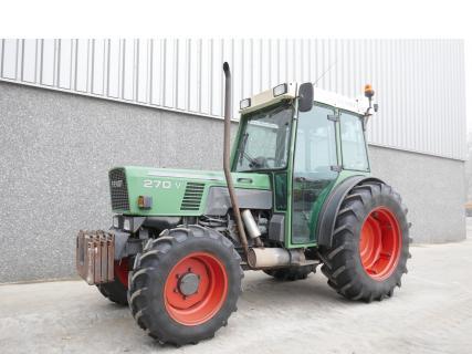 Fendt 270VA 1997 Vineyard tractor 1 Van Dijk Heavy Equipment