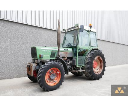 Fendt 275VA 1992 Vineyard tractorVan Dijk Heavy Equipment