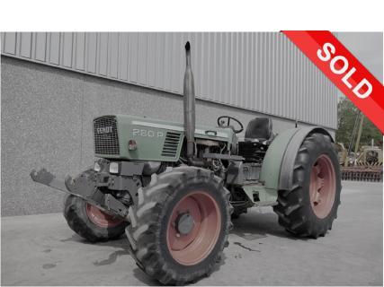 FENDT 280PA 1991 Agricultural tractor 1 Van Dijk Heavy Equipment