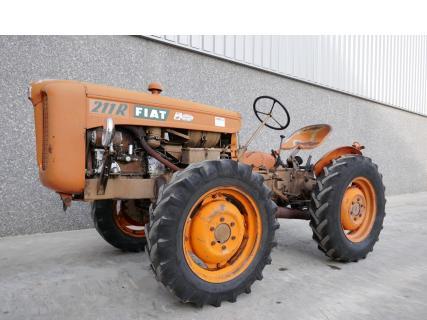 Fiat 251R 1966 Vintage tractor 1 Van Dijk Heavy Equipment