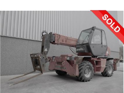 MANITOU MRT 1432 2005 Telescopic handlers 1 Van Dijk Heavy Equipment