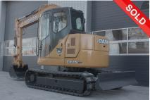 CASE CX75SR 2007 Excavator tracks  Van Dijk Heavy Equipment