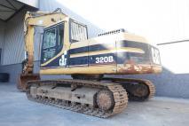 Caterpillar 320BL 1997 Excavator tracks  Van Dijk Heavy Equipment