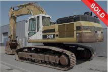 CATERPILLAR 345BL series II 2004 Excavator tracks  Van Dijk Heavy Equipment
