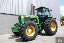 John Deere 4455 4WD 1991 Agricultural tractor  Van Dijk Heavy Equipment