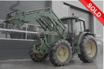 John Deere 6410 4WD 2002 Agricultural tractor  Van Dijk Heavy Equipment