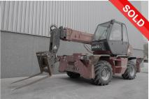 MANITOU MRT 1432 2005 Telescopic handlers  Van Dijk Heavy Equipment