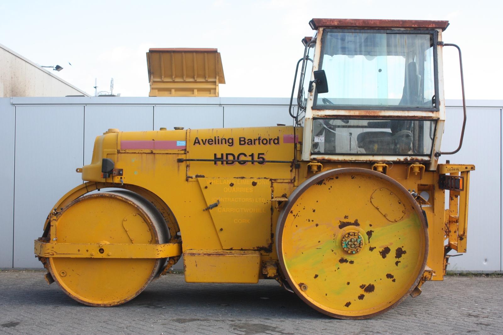 Aveling Barford Hdc15 1996 Asphalt Roller Van Dijk Heavy
