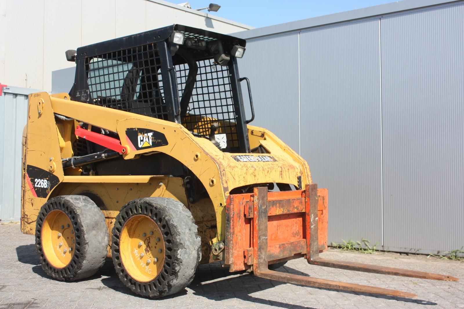 Caterpillar 226b 2009 Loader Skidsteer Van Dijk Heavy