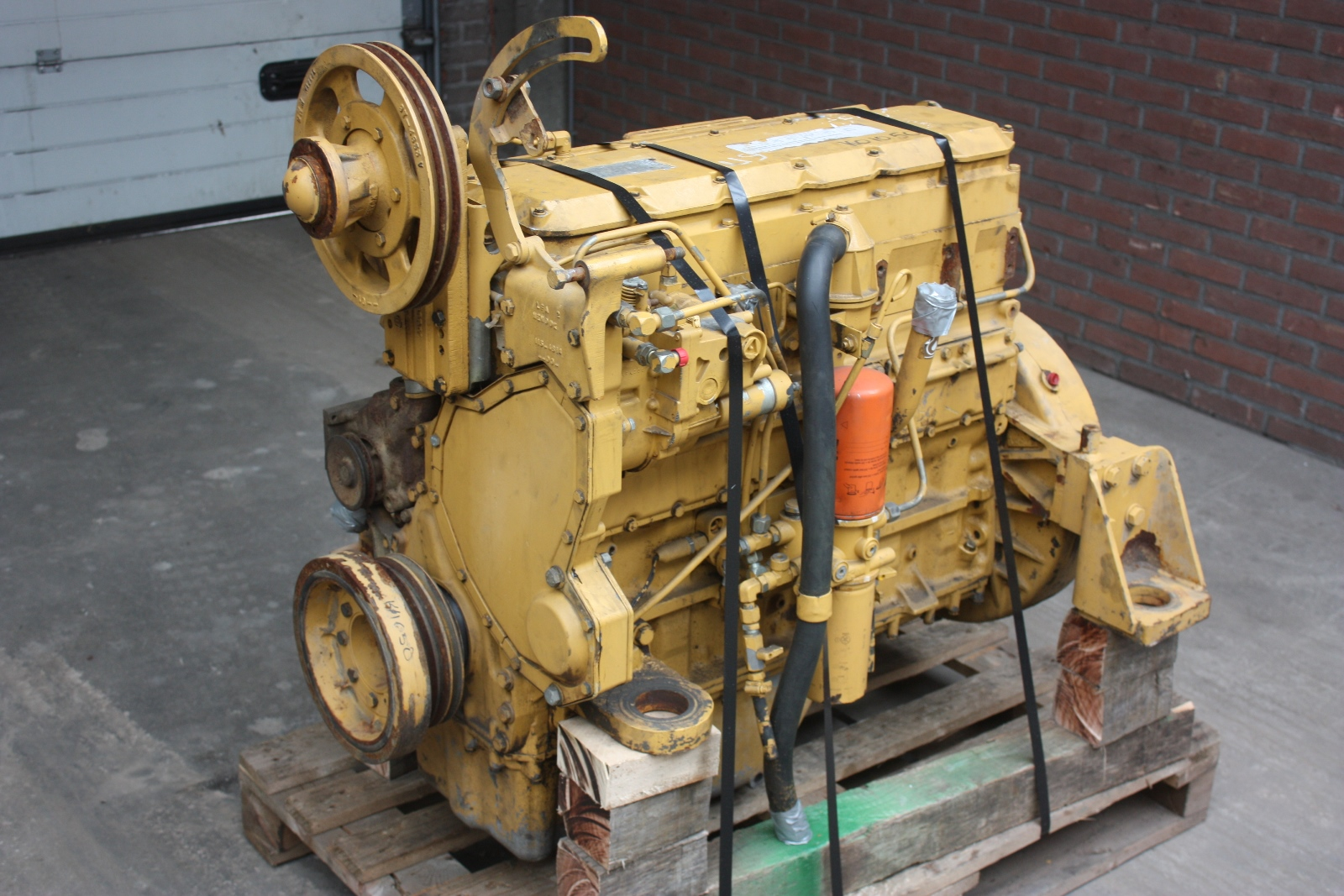 Caterpillar 3116 1997 Engine Van Dijk Heavy Equipment