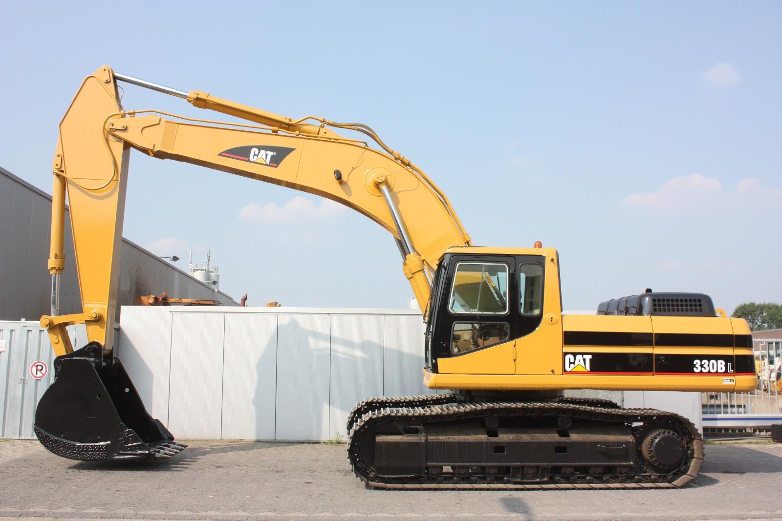 Caterpillar 330bl 2001 Excavator Tracks Van Dijk Heavy Equipment