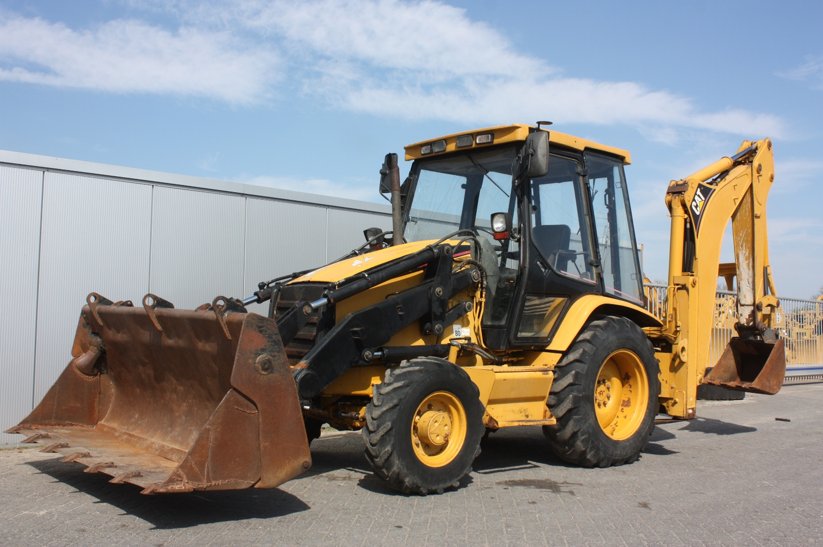 CATERPILLAR 428C 1997 Loader Backhoe | Van Dijk Heavy ...