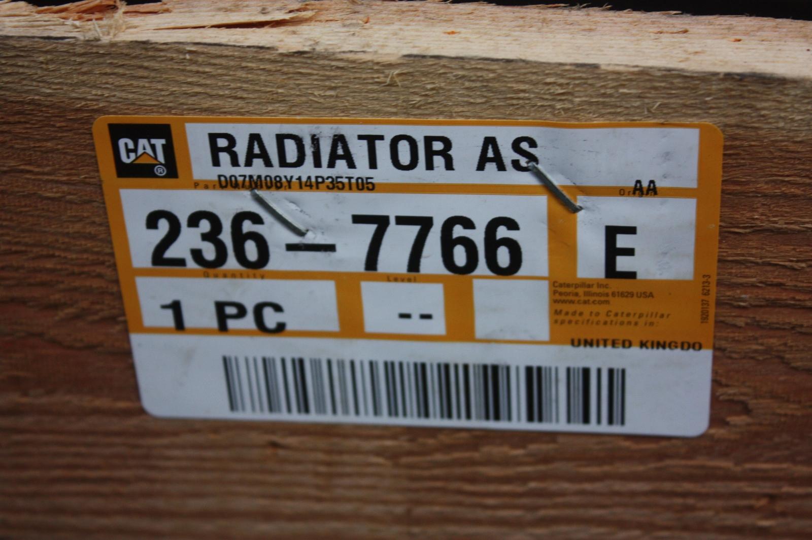 Caterpillar Radiator Implement Van Dijk Heavy Equipment