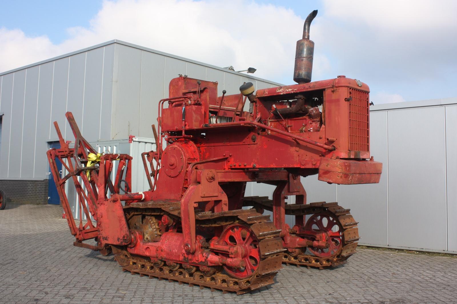 Old Heavy Equipment : Continental cd enjambeur vintage tractor van dijk