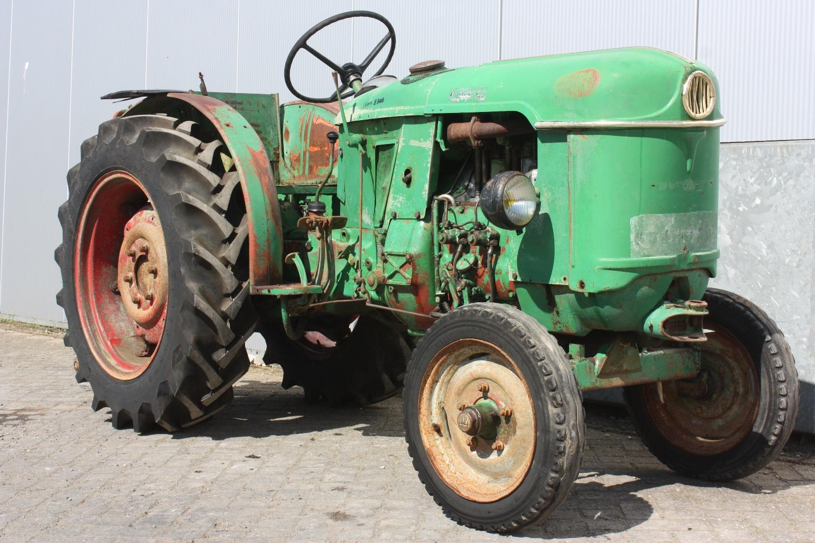 deutz d30 1964 vineyard tractor van dijk heavy equipment. Black Bedroom Furniture Sets. Home Design Ideas