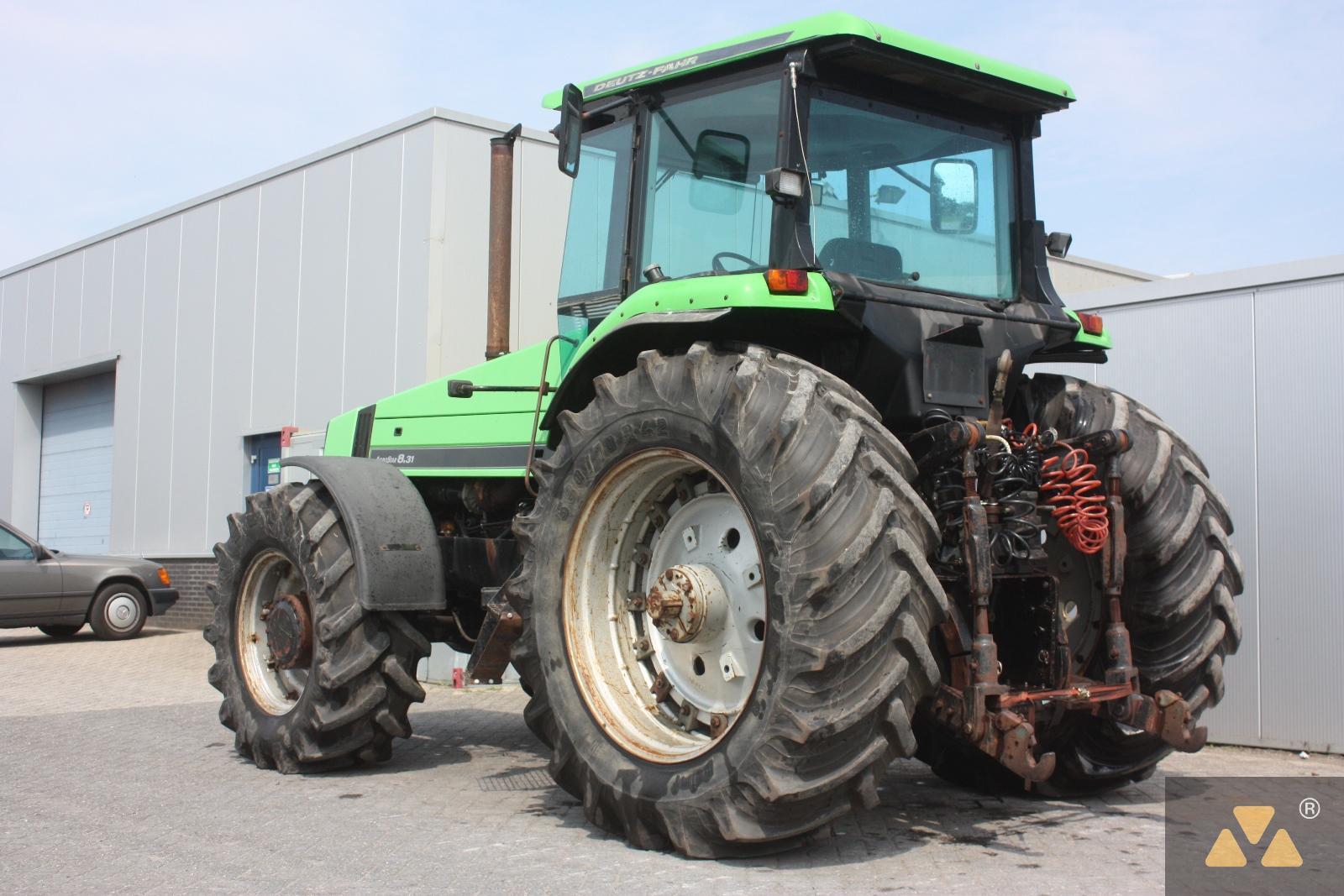 450mm Min Ground Clearance 4x4 Farm Tractor Agri Farm