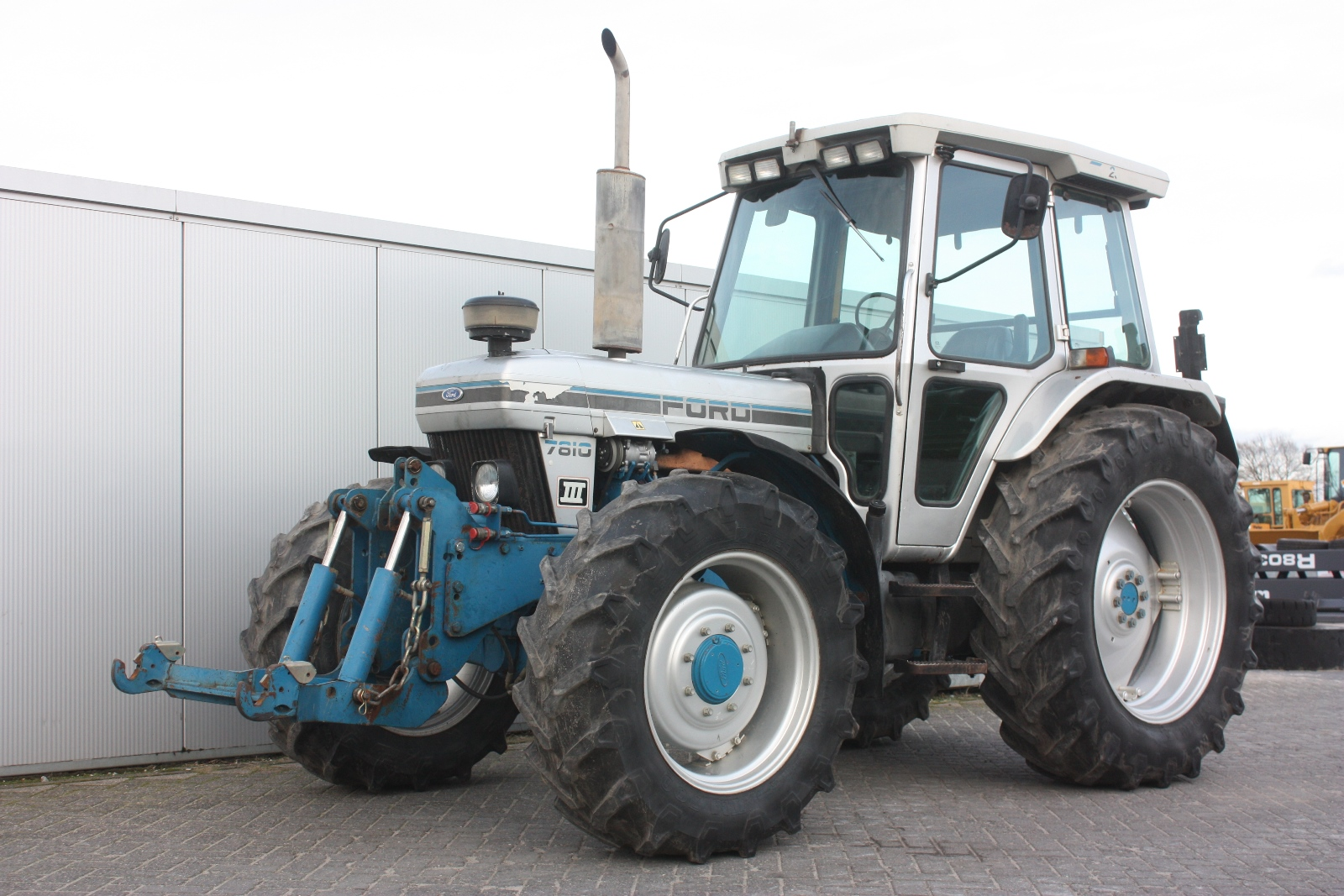Ford 7810 Tractor : Ford wd agricultural tractor van dijk heavy