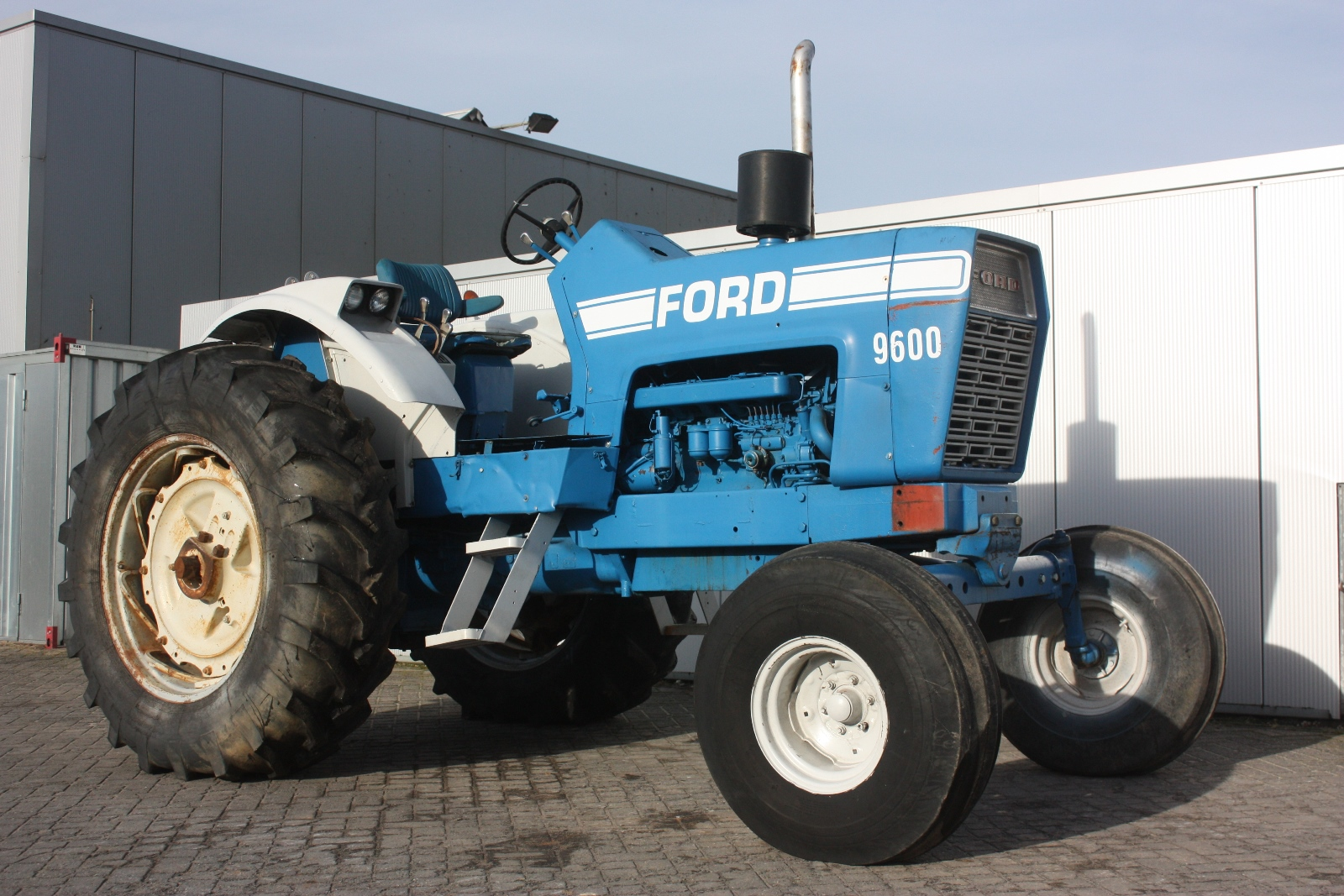 Ford 9600 Tractor : Ford  agricultural tractor van dijk heavy equipment