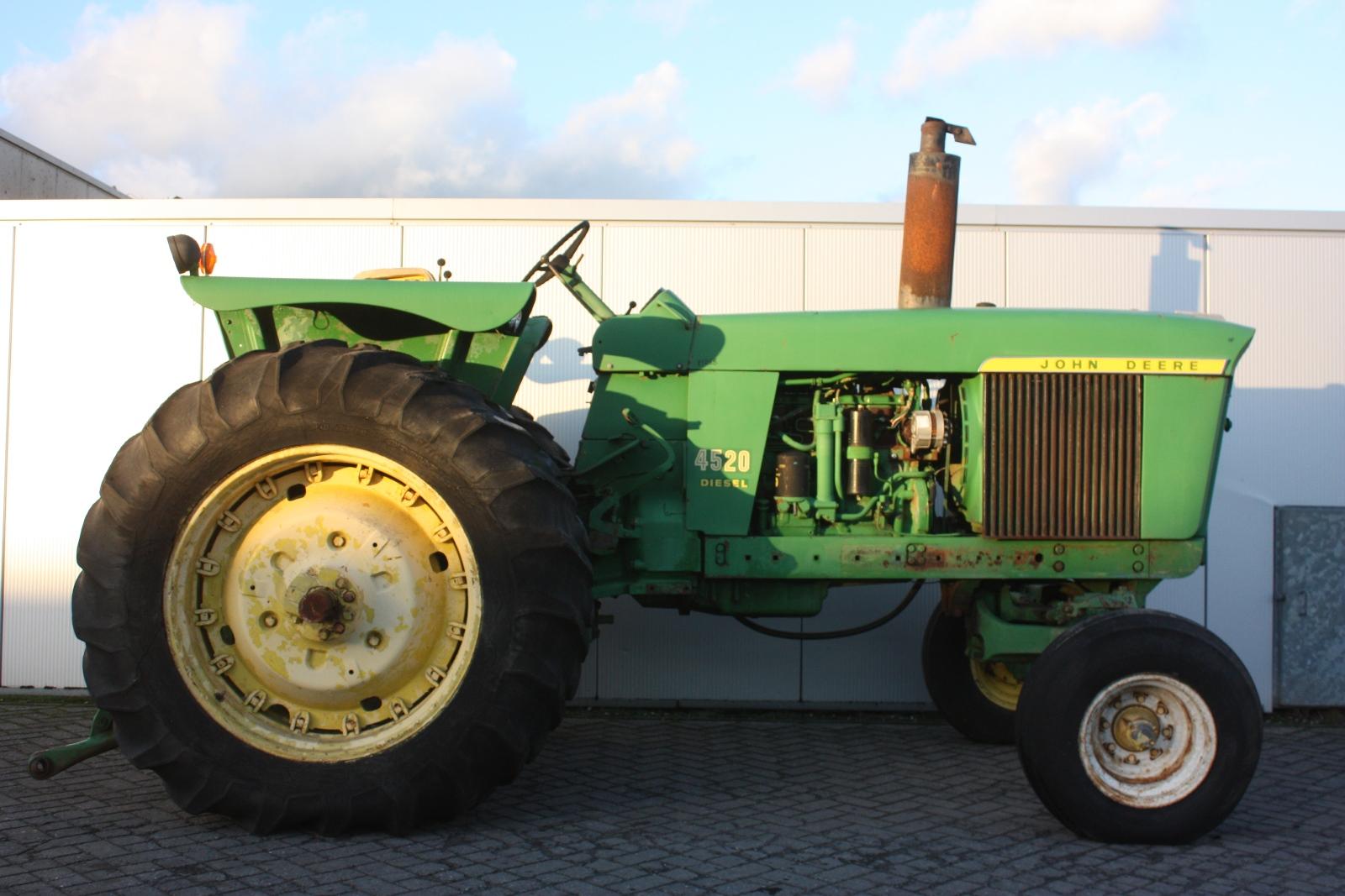 Old Heavy Equipment : John deere  vintage tractor van dijk heavy