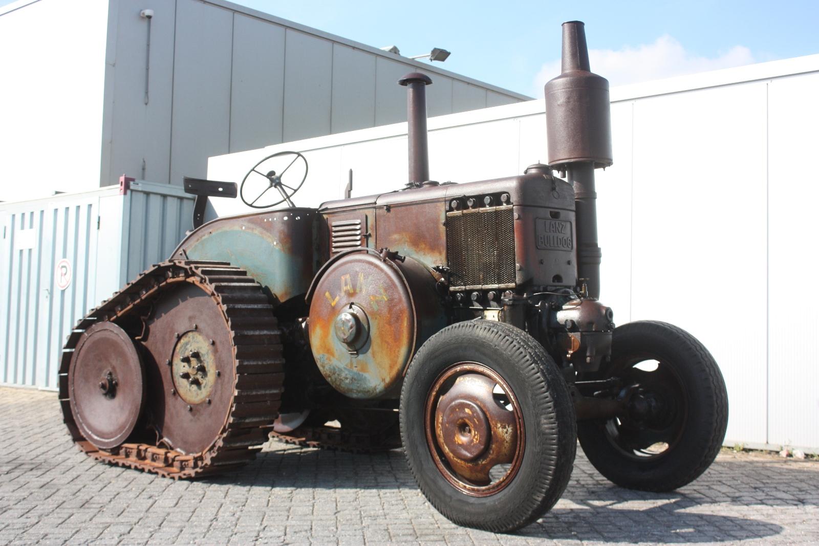 Old Heavy Equipment : Lanz d vintage tractor van dijk heavy equipment