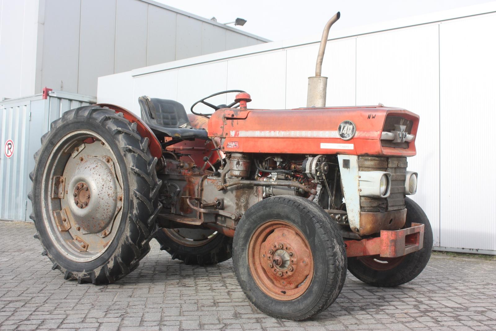 1966 Massey Ferguson Tractor : Massey ferguson v vineyard tractor van dijk
