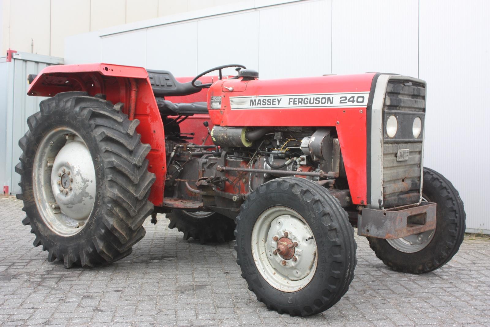 Massey Ferguson 240 1983 Agricultural Tractor Van Dijk