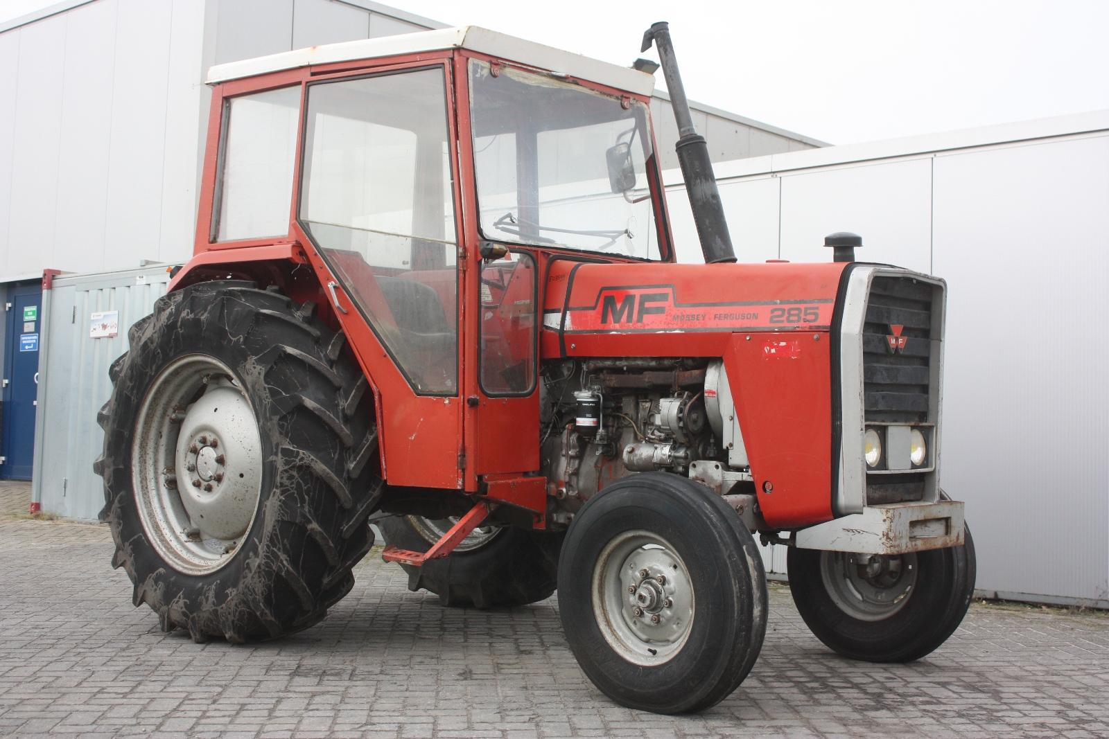 Massey Ferguson 285 Tractor Information : Massey ferguson agricultural tractor van dijk